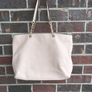 Tory burch nude tote